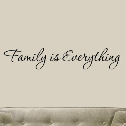 English-famous-quote-font-b-Family-b-font-is-Everything-Decals-Wall-Decal-Quotes-Home-Decor